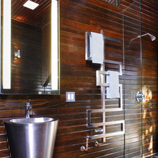 Eclectic Bathroom by Tracy Stone AIA