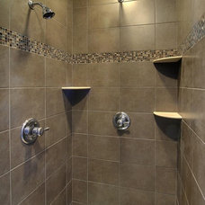 Traditional Bathroom by F & B Construction Inc. Co MN Custom Home Builders