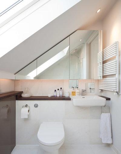 Små badeværelser - inspiration og idéer til indretning!