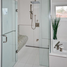 Contemporary Bathroom by Floor and Bath Design