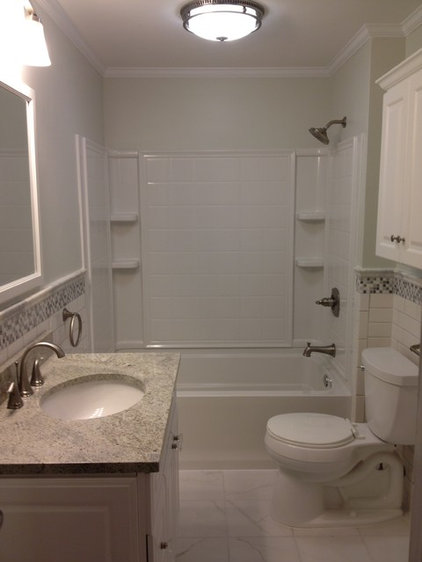 Traditional Bathroom by Lowe's of Turnersville, NJ