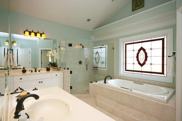 Traditional Bathroom by Jamie McNeilis, Accredited Staging Professional