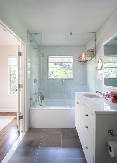 Traditional Bathroom by T.A.S Construction