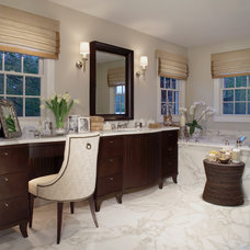 Traditional Bathroom by Richard Ross Designs