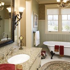 Farmhouse Bathroom by Bob Michels Construction, Inc.