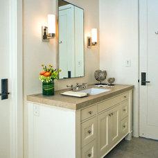 Beach Style Bathroom by Kristi Will Home + Design