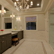 Traditional Bathroom by Stone Acorn Builders