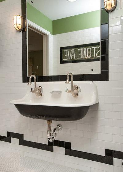 Mobili Bagno Ardeco. Bagno Moderno In Stile Art Deco Doccia Wc E ...