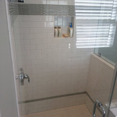 Contemporary Bathroom by Martini Tile, LLC
