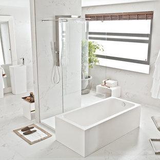 Stone Look Tiles - Carrara Blanco