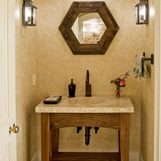 Traditional Bathroom by Worthington Custom Builder Inc.