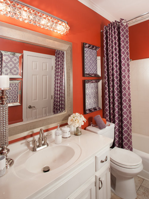 Chaise lounge chairs bathroom design ideas renovations for Bathroom chaise lounge