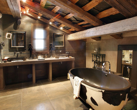Rustic Bathroom Design Houzz