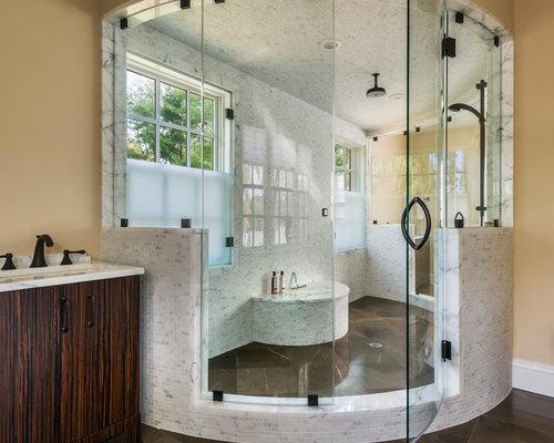 Curved Shower Doors Houzz