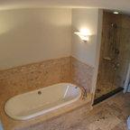 Classic White Vanity - Traditional - Bathroom - New York - by John Samuel Custom Cabinetry
