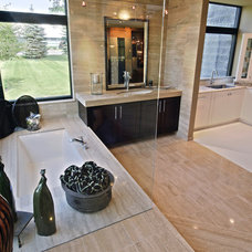 Contemporary Bathroom by Jenny Campbell