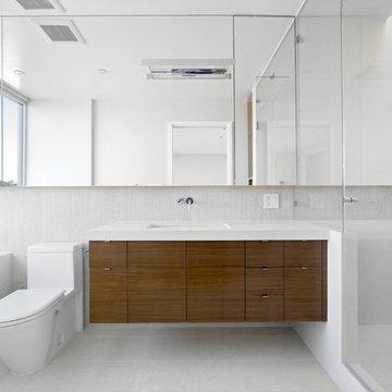 stone slab bath