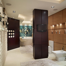Contemporary Bathroom by Arnold Schulman Design Group