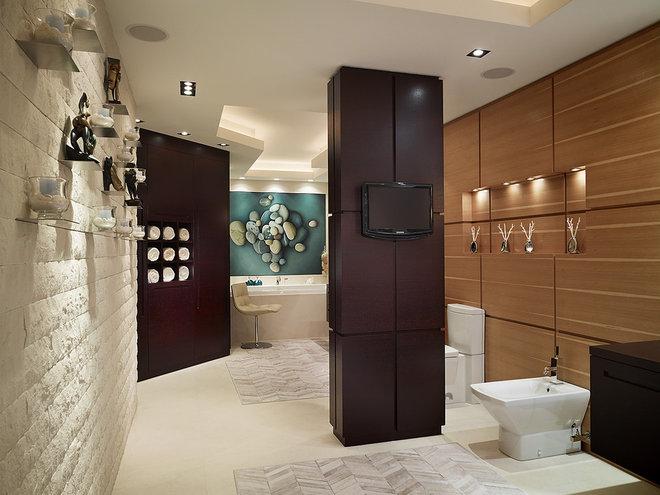 Contemporary Bathroom by Arnold Schulman Design Group