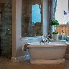 Traditional Bathroom by Shaddock Homes