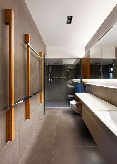 コンテンポラリー 浴室 by Base Architecture