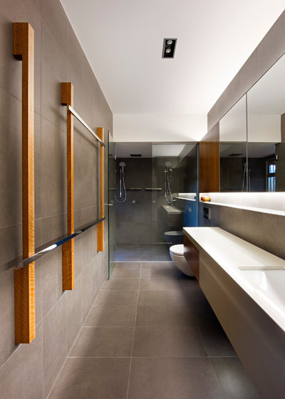 Contemporary Bathroom by Base Architecture