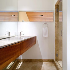 Contemporary Bathroom by Four Corners Construction, L.P.