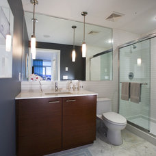 Contemporary Bathroom by Stoney Creek Cabinet Company