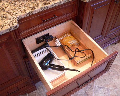 Bathroom Drawer Electrical Outlets Houzz