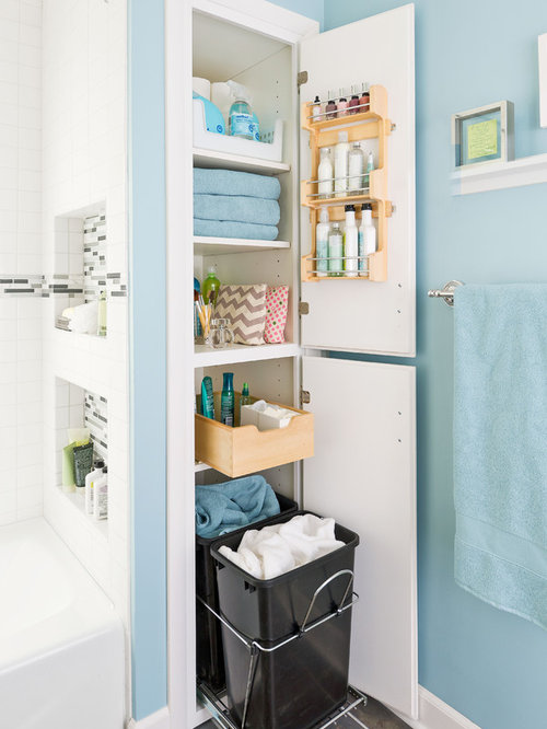 Bathroom Linen Closet Home Design Ideas, Pictures, Remodel and Decor