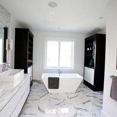 Modern Bathroom by Jodie Rosen Design