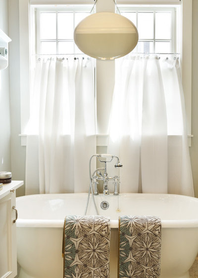 Farmhouse Bathroom by Nan Mac Mark