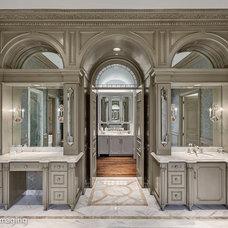Traditional Bathroom by Sharif & Munir Custom Homes, Inc.