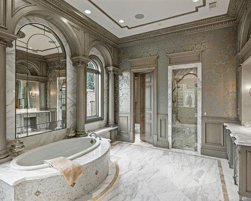 Sala Da Bagno Lusso : Bagni in marmo di lusso foto e idee houzz