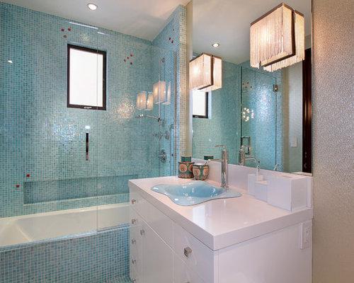 Blue Bathroom Sink Home Design Ideas Pictures Remodel