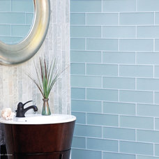 Contemporary Bathroom by The Tile Gallery