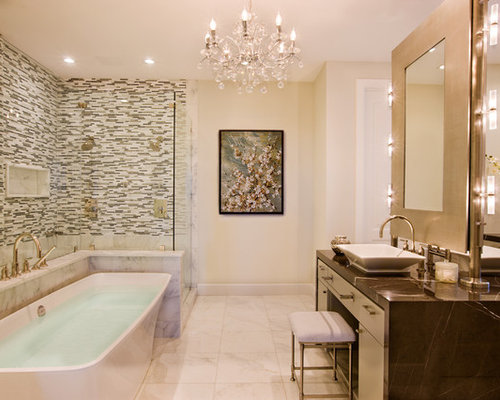 Glamorous Bathroom Home Design Ideas Pictures Remodel