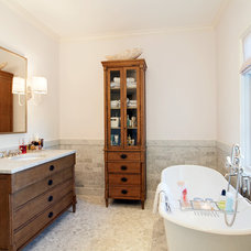 Traditional Bathroom by Audino Construction, Inc.