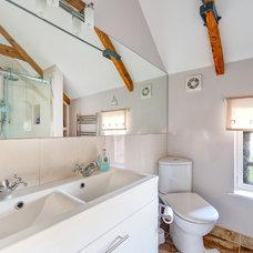 Farmhouse Bathroom by Colin Cadle Photography