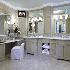 traditional bathroom by Rockwood Cabinetry