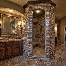 Mediterranean Bathroom by Inspired Interiors