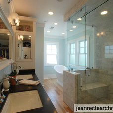 Traditional Bathroom by Jeannette Architects