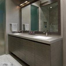 Contemporary Bathroom by Centaur Interiors