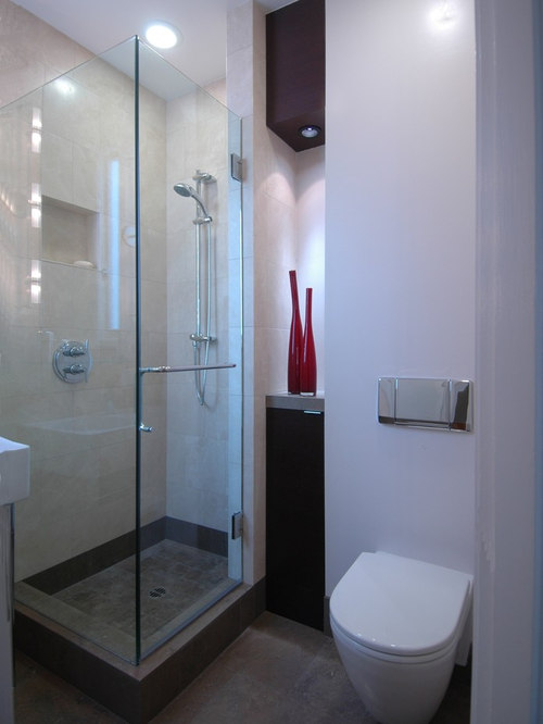 Small Bathroom Stand Up Shower Houzz