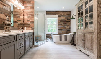 Striking Rustic Master Bathroom Remodel