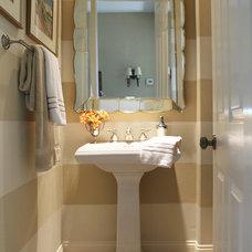 Traditional Bathroom by Casey Grace Design, LLC