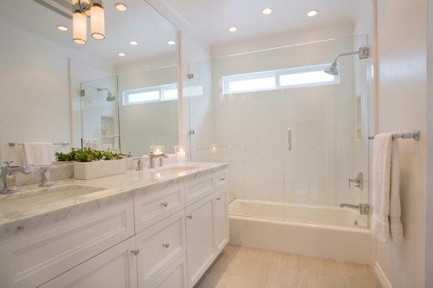 Contemporary Bathroom by Linda Rosen Interiors