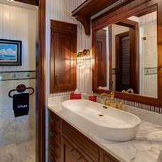 Beach Style Bathroom by Simonsen-Hickok Interiors
