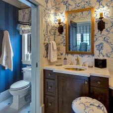 Traditional Bathroom by Simonsen-Hickok Interiors