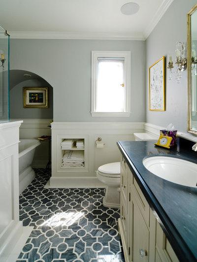 Klassisk Badeværelse by FGY Architects